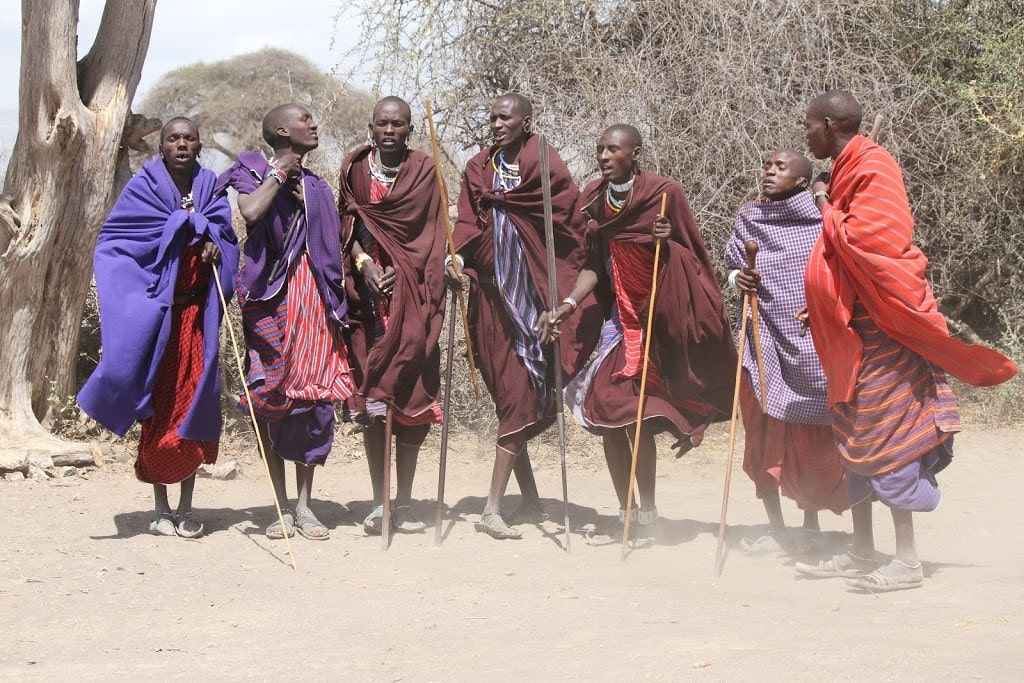 maasai warriers